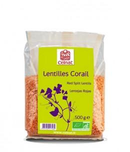 Celnat - Lentilles corail - 500 gr