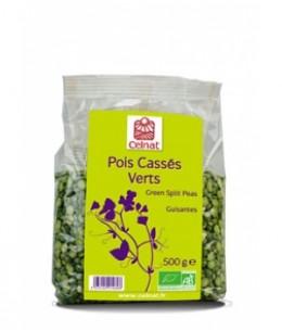 Celnat - Pois Cassés Verts Bio - 500 gr