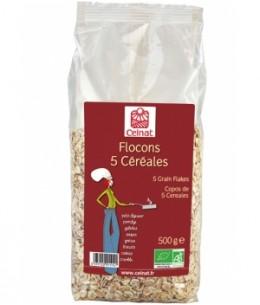 Celnat - Flocons de 5 céréales - 500 gr