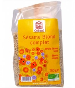 Celnat - Sésame Blond complet - 250 gr