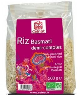 Celnat - Riz Basmati long demi complet - 500 gr