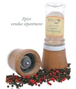 Cook - Moulin à épices à visser sur les flacons Cook - 100 ml
