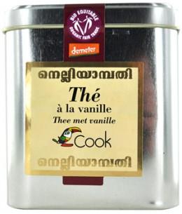 Cook - Thé noir à la vanille - 180 gr