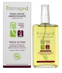 Dermaclay  - Huile sèche amincissante Triple action - 100 ml