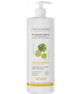 Dermaclay  - Gel bain douche familial Hydratant Relaxant - 1 L