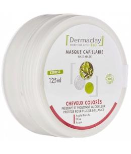 Dermaclay  - Masque capillaire cheveux colorés, décolorés et mêchés - 125 ml