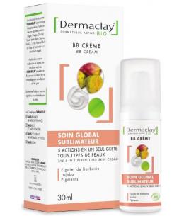 Dermaclay  - BB crème 5 en 1 Soin global sublimateur peau parfaite - 30 ml
