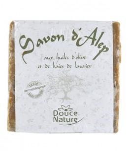Douce Nature - Savon d'Alep 12% huile de Laurier - 200 gr