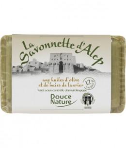 Douce Nature - Savonnette d'Alep 12% d'huile de baies de Laurier - 100 gr