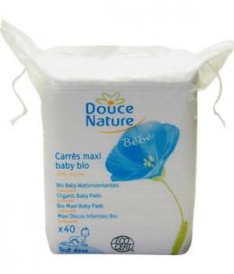 Douce Nature - 60 carrés Maxi Baby coton bio