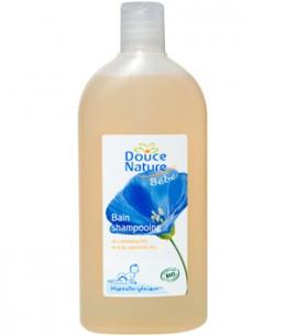 Douce Nature - Bain Shampoing Ultra Doux bébé hypoallergénique Calendula Camomille - 300 ml