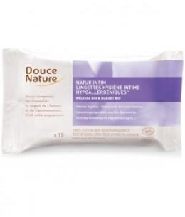 Douce Nature - 15 Lingettes hygiène intime écologiques
