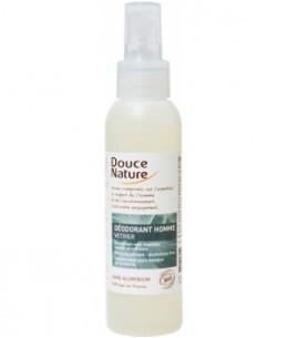 Douce Nature - Spray Déodorant Homme au Vétiver Bio - 125 ml