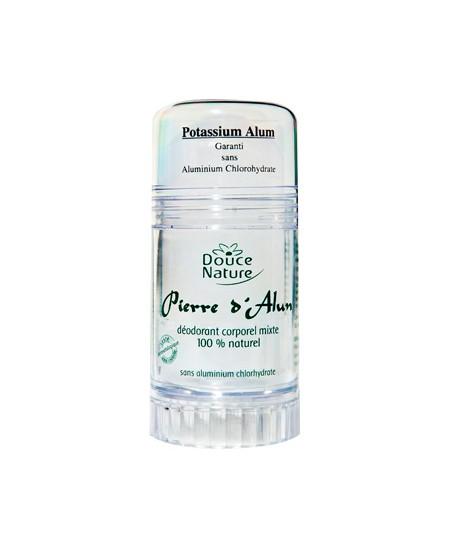 Douce Nature - Déodorant corporel Pierre D'Alun mixte naturelle - 120 gr