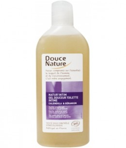 Douce Nature - Gel douceur intime Calendula Bio et HE de géranium Bio - 200 ml