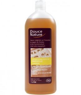 Douce Nature - Shampoing Douche Marseille huile d'olive lavande sans sulfates - 1 litre