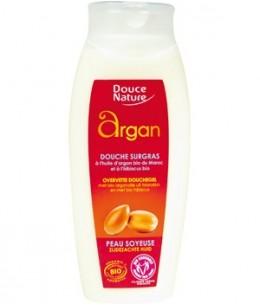 Douce Nature - Gel douche surgras à l'Huile d'Argan et Hibiscus - 250 ml