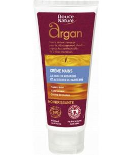 Douce Nature - Crème mains à l'huile d'Argan et Beurre de Karité - 60 ml