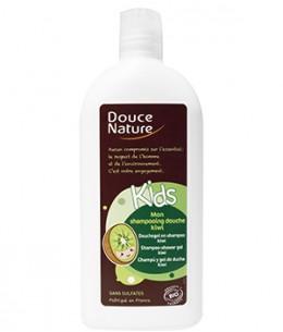 Douce Nature - Mon shampoing douche Kids kiwi sans sulfates - 300 ml