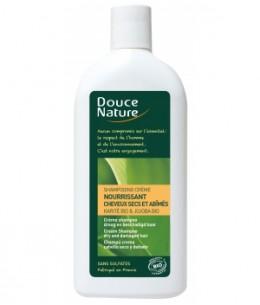 Douce Nature - Shampooing crème nourrissant Beurre de Karité Jojoba - 300 ml