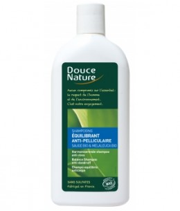 Douce Nature - Shampooing Equilibrant anti pelliculaire Sauge Tea Tree - 300 ml