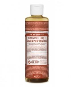 Dr Bronners - Savon liquide à l'Eucalyptus - 240 ml
