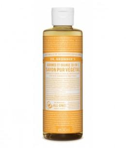 Dr Bronners - Savon liquide aux Agrumes Orange - 240 ml