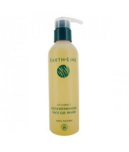 Earth Line - Gel Lavant pour visage à la vitamine E - 200 ml