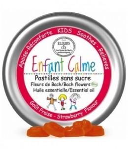 Elixirs And Co - Pastilles aux Fleurs de Bach Enfant Calme - 45 pastilles