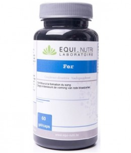 Equi - Nutri - Fer - 60 gélules végétales