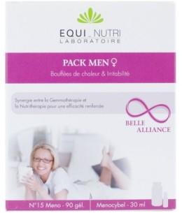 Equi - Nutri - Pack Men 60 gélules + Flacon - 100 ml
