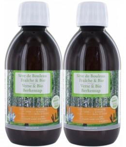 Equi - Nutri - Sève fraîche de Bouleau bio - Lot de 2 flacons de 250 ml