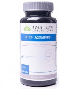Equi - Nutri - Aquahors Complexe N20 - 60 gélules