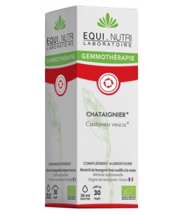 Equi - Nutri - Châtaignier bio Flacon compte gouttes - 30 ml