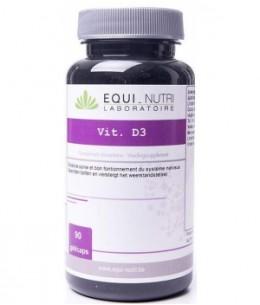 Equi - Nutri - Vitamine D3 Lithothamne 90 gélules - 100 gr