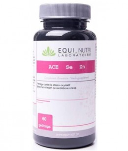 Equi - Nutri - ACE + Sélénium + Zinc - 60 gélules