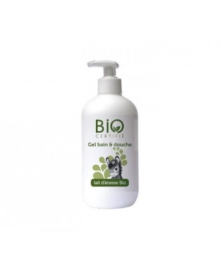 Gravier - Gel bain et douche au lait d'ânesse bio - 500 ml