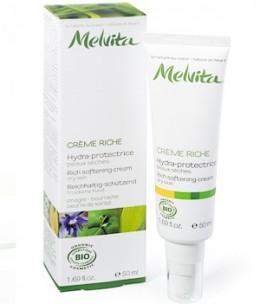 Melvita - Crème riche hydra protectrice aux huiles d'Onagre et Bourrache - 50 ml