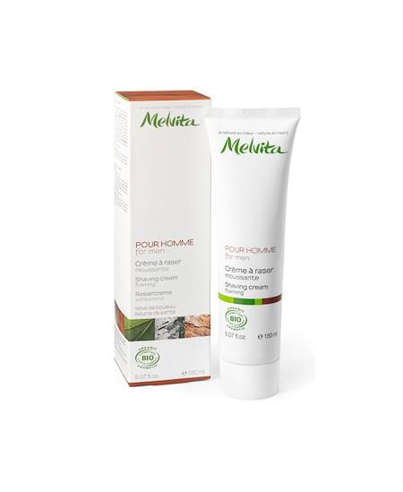 Melvita - Crème à raser Sève de Bouleau et Beurre de Karité - 150 ml