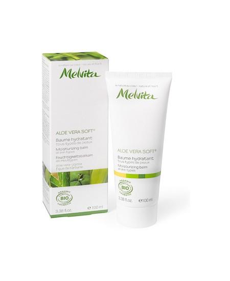 Melvita - Aloe vera soft Baume hydratant et apaisant - 100 ml