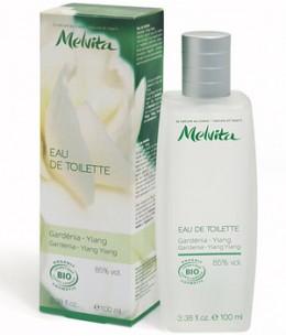 Melvita - Vaporisateur d'Eau de toilette Gardénia Ylang - 100 ml