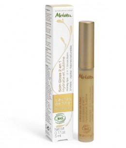 Melvita - Soin Gloss lèvres de miel Apicosma - 5 ml