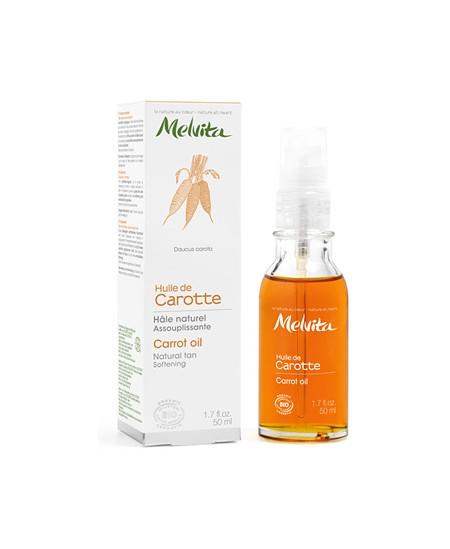 Melvita - Huile de Carotte Hâle naturel assouplissante - 50 ml