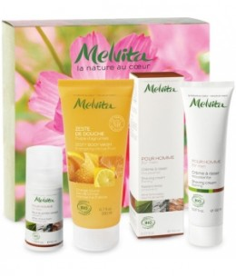 Melvita - Coffret homme Melvita Secret d'Amour - 400 ml