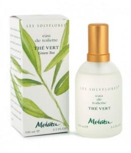 Melvita - Vaporisateur d'Eau de toilette Thé Vert Solyflores - 100 ml