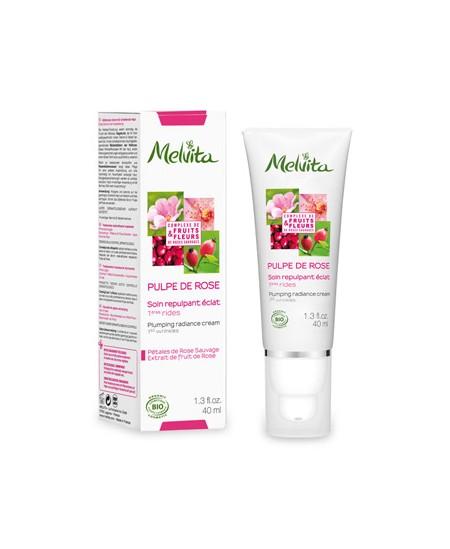 Melvita - Soin repulpant éclat Pulpe de Rose - 40 ml