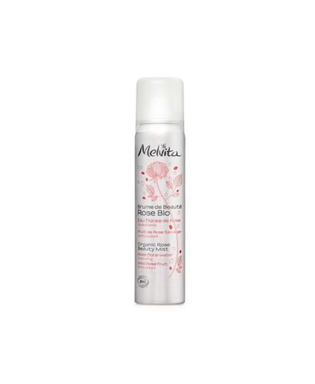 Melvita - Brume de beauté Rose Eau florale de Rose et Fruits sauvages - 50 ml