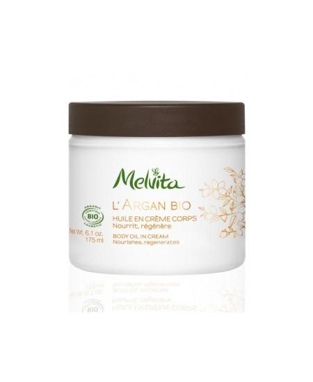 Melvita - Huile en Crème Corps Argan - 175 ml