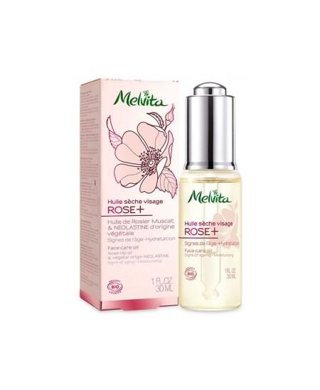 Melvita - Huile de Soin Visage Rose+ - 30 ml