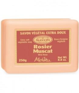 Melvita - Savon Naturel Rosier Muscat - 250 gr